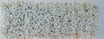 30 x Self Adhesive Flower Tufts - White